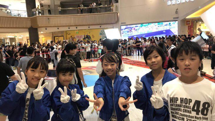上海のテレビ番組系ダンスコンテスト出てきたyo!
